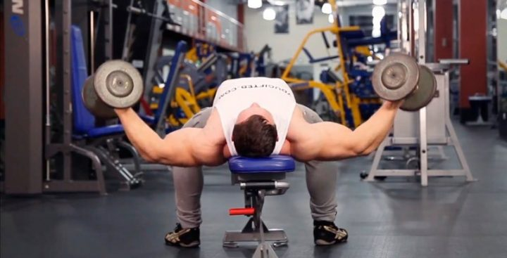 Dumbbell bench press: how-to, proper form, tips